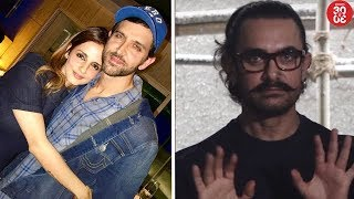 Sussanne's Shocking Reaction On Reconciling With Hrithik | Aamir Khan On His Smoking Habits - ZOOMDEKHO