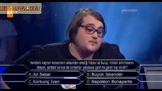 Kim Milyoner Olmak Ister 217 bölüm Armin Farzini 11.05.2013