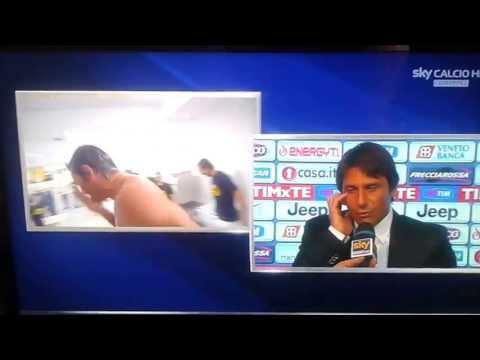 Antonio Conte in mutande! Juventus Campione d'Italia 2012-2013