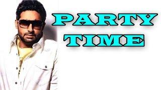 Abhishek Bachchan to organize a bash for 'Shamitabh' team | Shamitabh Movie