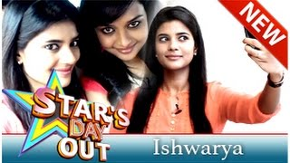 Actress Iyshwarya Rajesh in Stars Day Out 19-07-2014 Puthuyugam tv Show