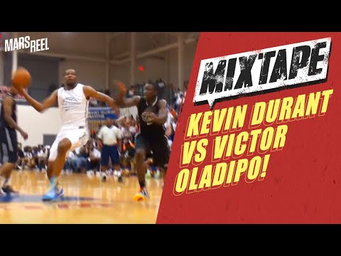 Kevin Durant Vs Victor Oladipo! #2 Picks Go Head To Head At The Goodman Roundball Classic!