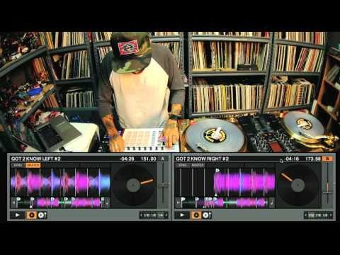 DJ Craze performs on the new Traktor Scratch Pro 2