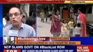#BulldozingLives in Bangalore: Massive face-off between BBMP-residents - NEWSXLIVE
