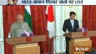 India-Japan meet: PM Narendra Modi addressing Media Live from Japan - INDIATV
