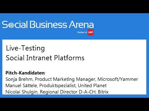 #cebitsba 2014 | Live-Testing: Social Intranet Platform mit IntrexxShare, Bitrix24 & Microsoft