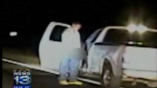 Kierowca obsikał policjanta