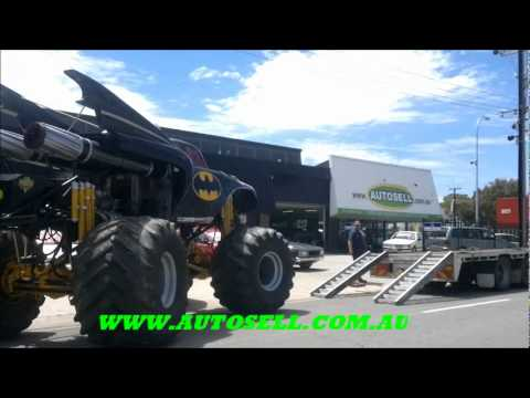 2012 BATMAN Monster Truck, EXTREME LOUD supercharged in Adelaide-Unique Car