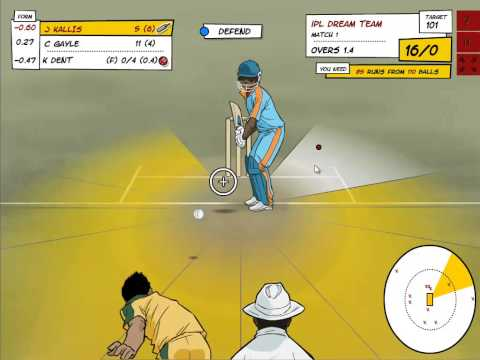 Pocket Cricket - Lets play the first few overs of a T20