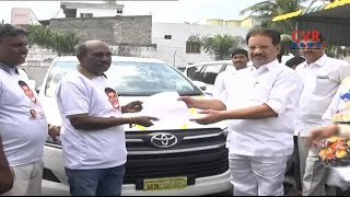 Nakka Ananda Babu Distributed 20 Innova Cars by SC,ST Corporation | CVR News - CVRNEWSOFFICIAL