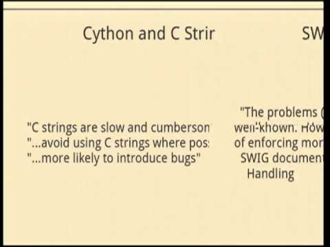 Image from Cython vs SWIG, Fight!