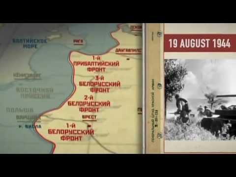 Wojna Na Wschodzie SOVIET STORM OPERACJA BAGRATION 6/8
