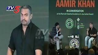 Bollywood Actor Aamir Khan Sensational Comments On Intolerance