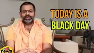 Swami Paripoornananda Speech | Today is Black Day For The Democracy in India | Mango News - MANGONEWS