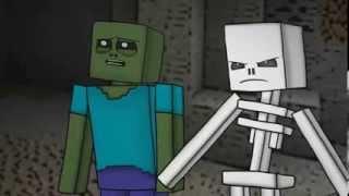 Смешной мультик Minecraft