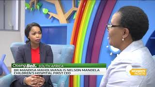 Nelson Mandela Children's Hospital CEO Mandisa Maholwana shares her career journey - ABNDIGITAL
