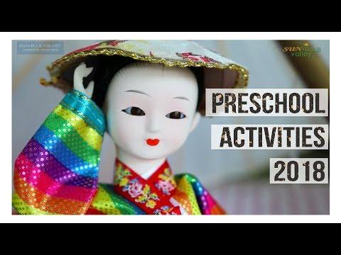 Preschool Activities 2018