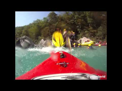 GoPro HD: Rafting on the Soca river