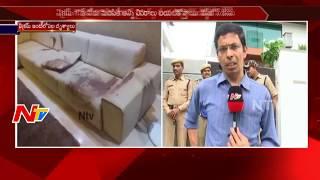 Firing on Ex-Minister Mukesh Goud's Son Vikram Goud in Hyderabad || NTV - NTVTELUGUHD