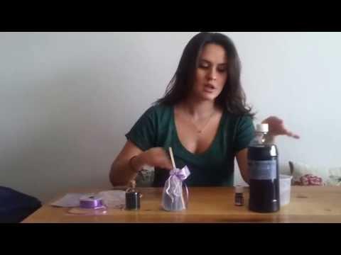 Lembrancinha para chá de bebê e maternidade: difusor de aromas