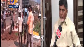 AP CM Chandrababu Naidu Interview On Cyclone Hudhud Aftermath: ETV Exclusive - ETV2INDIA