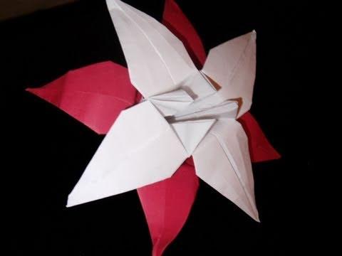 origami lily -mxHeQ6pBUtI