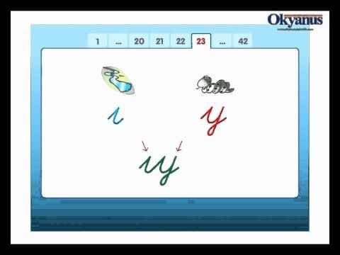 Y Harfini Öğreniyorum Animasyonu Okyanus Yayıncılık İlk Okuma Yazma Seti