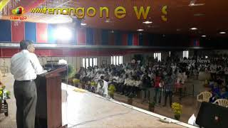 Jayaprakash Narayana With Engineering Students at Shri Vishnu Educational Society | Mango News - MANGONEWS