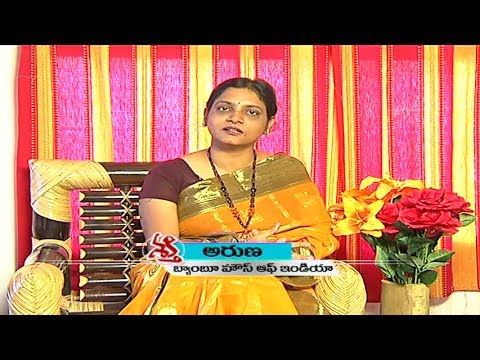 Aruna Kappagantula - Bamboo House India (Founder, CEO) | Shakthi | Vanitha TV