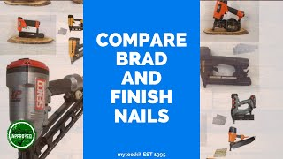 A comparison of 16 gauge and 18 gauge brad nails youtube keyboard keysfo Images