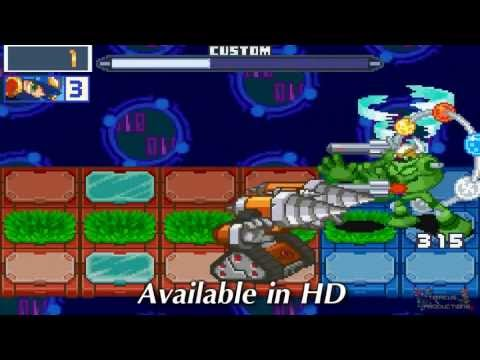 LightandDarkArts's Request - Vs. ElementMan RV, DiveMan RV, ChargeMan SP, and Xylos [HD]