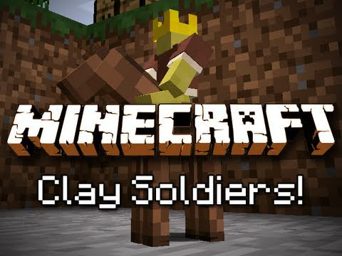 Minecraft Clay Soldier Mod