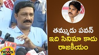 TDP MLA Ganta Srinivasa Rao Strong Counter To Pawan Kalyan | AP Elections 2019 Updates | Mango News - MANGONEWS