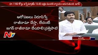 YS Jagan Avoids Prathipati Pulla Rao Challenge over Agri Gold Issue || AP Assembly || NTV - NTVTELUGUHD