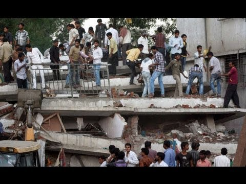 Mumbai: Under-construction building collapsed; 28 dead