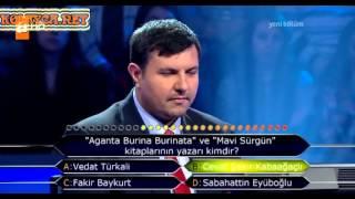 Kim milyoner olmak ister 194. bölüm Lütfü Çiçek 18.03.2013
