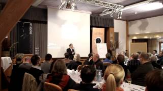 Vom Reden ins Handeln kommen Rüdiger Lenz Nichtkampf Prinzip Vortrag 12.01.2013