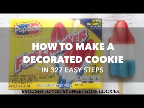How to Make A Decorated Cookie
