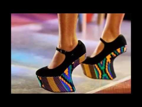 Chaussures En Pagne Africain By African Colors...