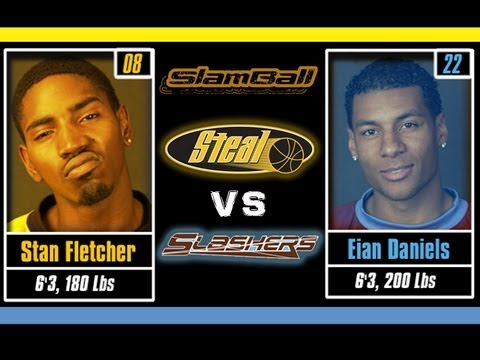 Steal vs Slashers - Full Game Season One - SlamBall