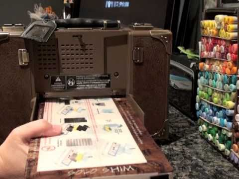Tim Holtz Sizzix Vagabond Machine Demo