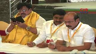 Minister Kalva Srinivasulu Reviews on Dharma Porata Deeksha Arrangements in Kurnool | CVR News - CVRNEWSOFFICIAL