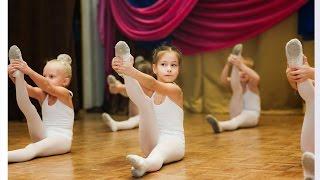 Урок в детской танцевальной студии