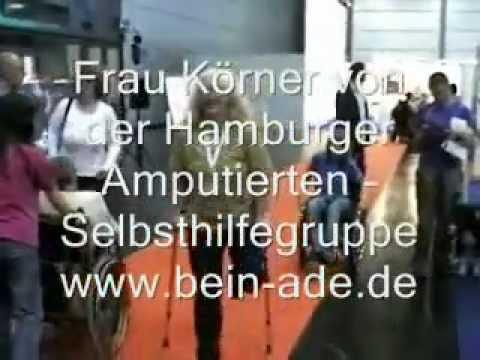 genuS Kniestütze: Frau Körner - auch ohne Prothese mobil