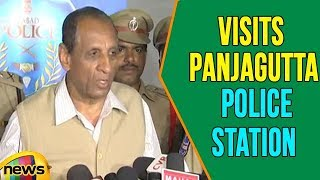 Governor Narasimhan VIsits Panjagutta Police Station In Hyderabad | Mango News - MANGONEWS