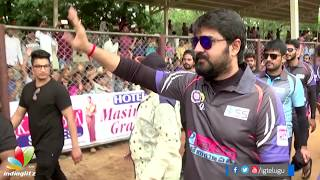 Srikanth's Ra Ra movie audio launch at Crescent Cricket Cup 2017 - IGTELUGU