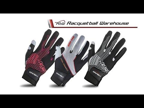 New HEAD Racquetball Gloves w/CopperTech
