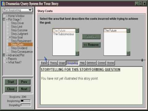 How Writers Structure Their Stories in Dramatica Pro Writing Software