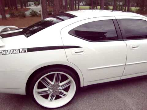 '07 Dodge Charger RT Hemi White 24'' Rims USA Auto Sales Columbia SC