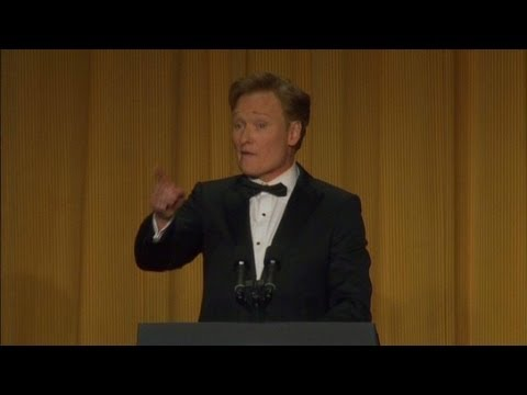 Raw: Conan at White House Correspondents' dinner part 2